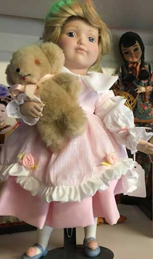 ANTIQUE DOLL RESTORED